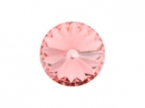 Swarovski - Rivoli - Light Rose, 12 mm