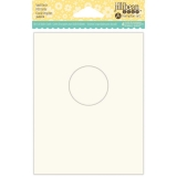 Jillibean Soup Shaker Cards - Small Circle