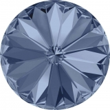 Swarovski - Rivoli - Denim  Blue, 14 mm