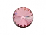 Swarovski - Rivoli - Antique Pink, 12 mm , 2 posl. kusy
