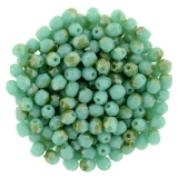 Ohňovky - Luster Lt.Champagne Turquoise, 3 mm