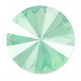 Swarovski - Rivoli - Crystal Mint Green, 12 mm , 2 posl. kusy