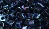 TOHO Cube 2 mm - Navy Blue Iris Metallic