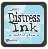 Mini polštářek Distress Ink - Tumbled Glass