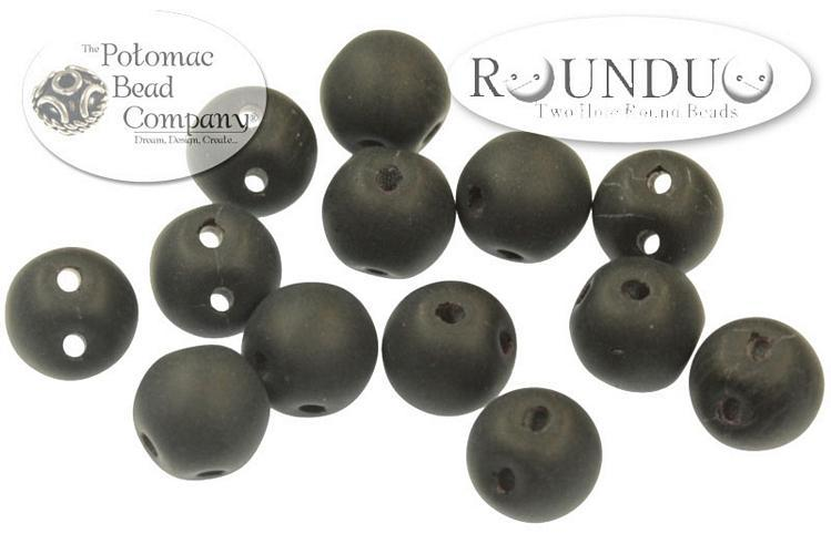 RounDuo - Jet Matted, 5 mm