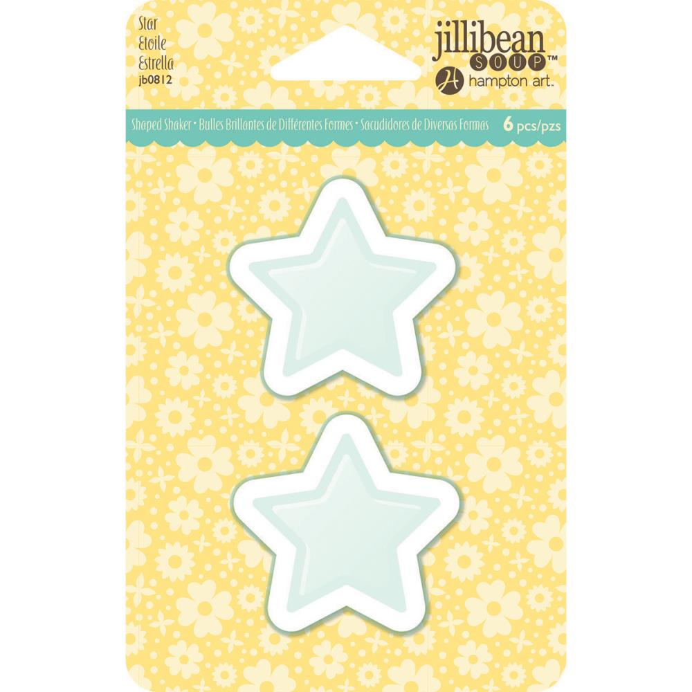 PVC Card Shakers  - Star