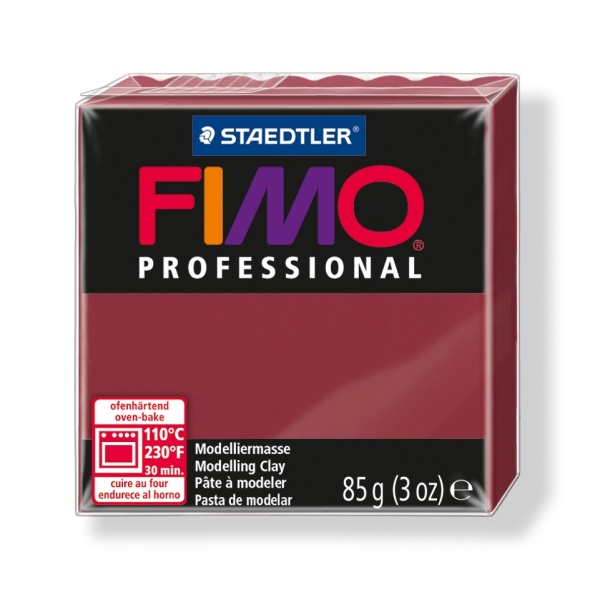FIMO Professional - bordó, 85 g